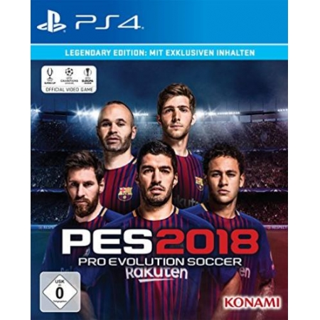 PES 2018 - Pro Evolution Soccer - Legendary Edition  [PS4, neu, DE]