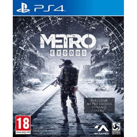 Metro Exodus (Day One Edition) [PS4, gebraucht, PEGI-FR]
