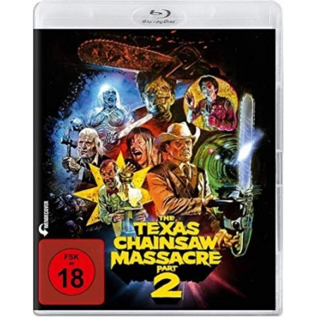 The Texas Chainsaw Massacre 2 (Blu-ray) [BluRay, gebraucht, DE]