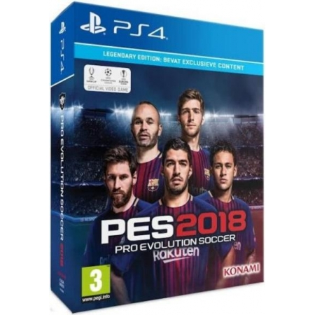 PES 2018 Legendary Edition (Angebot) [PS4, neu, PEGI-NL]