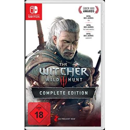 The Witcher 3: Wild Hunt - Complete Edition - Ohne Boni und Schuber [NSW, gebraucht, DE]