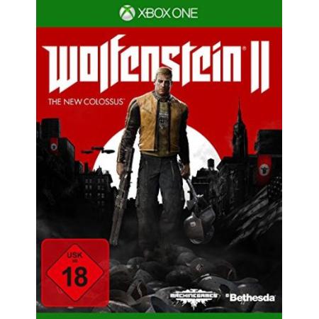 Wolfenstein II: The New Colossus - Hülle und Cover beschädigt [XBox one, gebraucht, DE]