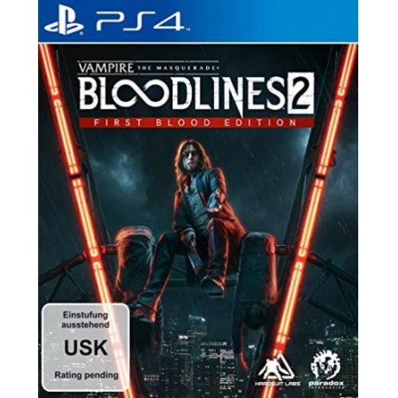 Vampire: The Masquerade Bloodlines 2 First Blood Edition [PS4, neu, DE]