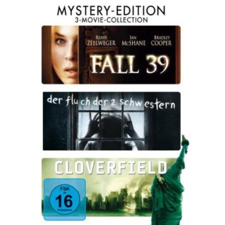 Fall 39 / Der Fluch Der Zwei Schwestern / Cloverfield (3 DVDs) [DVD, gebraucht, DE]