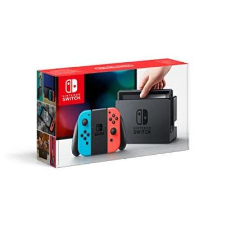Nintendo Switch Konsole - neon (Hardware) - Ohne OVP und Joycon Grip [NSW, gebraucht, DE]