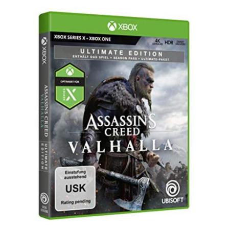 Assassin's Creed Valhalla - Ultimate Edition [XBox one, neu, DE]