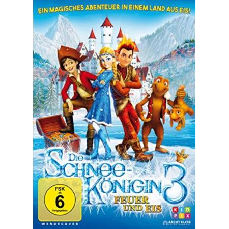 Schneekönigin 3 - Feuer und Eis [DVD, gebraucht, DE]