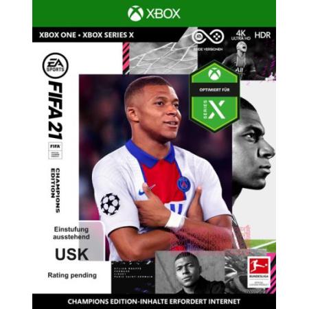 FIFA 21 CHAMPIONS EDITION [XBox one, neu, DE]