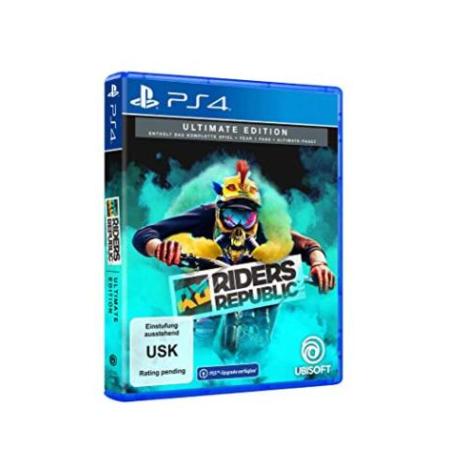 Riders Republic - Ultimate Edition (kostenloses Upgrade auf PS5) [PS4, neu, DE]
