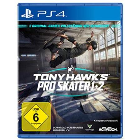 TONY HAWK´S Pro Skater 1+2 Standard Edition [PS4, gebraucht, DE]