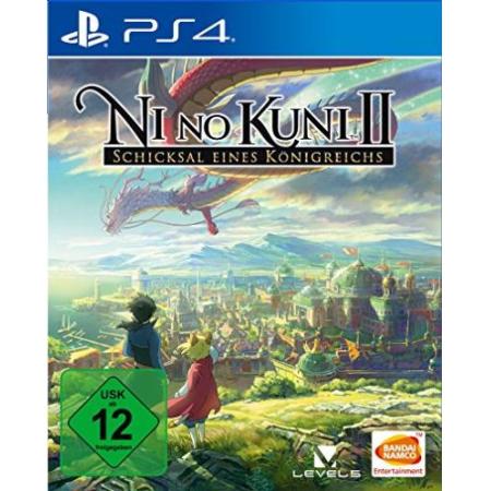 Ni No Kuni 2: Schicksal eines Königreichs - Bundleversion [PS4, gebraucht, DE]
