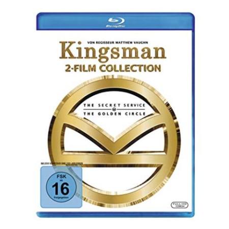 Kingsman - Teil 1+2 [BluRay, gebraucht, DE]