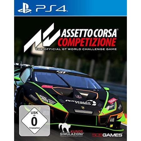 Assetto Corsa Competizione [PS4, gebraucht, DE]