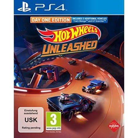 Hot Wheels Unleashed Day One Edition [PS4, neu, DE]