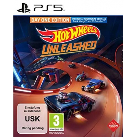 Hot Wheels Unleashed Day One Edition [PS5, neu, DE]