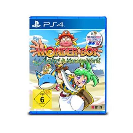 Wonder Boy: Asha in Monster World [PS4, neu, DE]