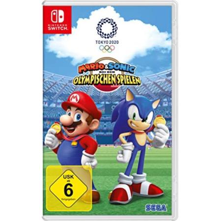 Mario & Sonic bei den Olympischen Spielen: Tokyo 2020 [NSW, gebraucht, DE]