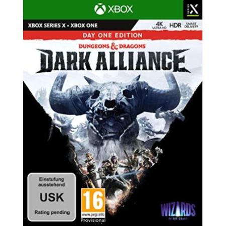 Dungeons & Dragons Dark Alliance Day One Edition (Xbox One, Series X) [XBox one, neu, DE]