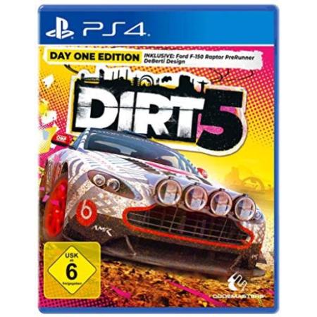 DIRT 5 - Day One Edition [PS4, gebraucht, DE]