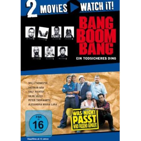 Bang Boom Bang - Ein todsicheres Ding / Was nicht passt, wird passend  [DVD, gebraucht, DE]