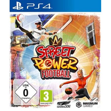 Street Power Football [PS4, gebraucht, DE]
