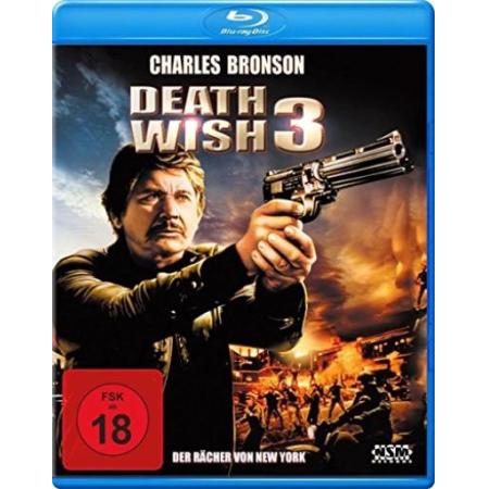 Death Wish 3 - Der Rächer von New York (Charles Bronson) [BluRay, gebraucht, DE]