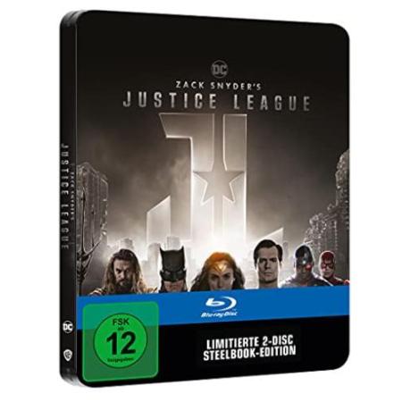 Zack Snyder's Justice League - limited Steelbook  [BluRay, gebraucht, DE]