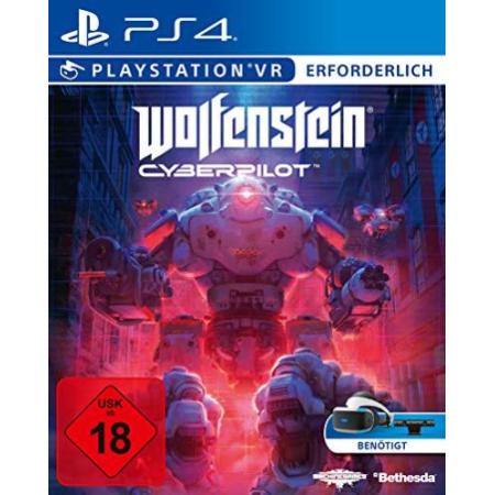 Wolfenstein Cyberpilot (Deutsche Version)  - Cover beschädigt [PS4, gebraucht, DE]