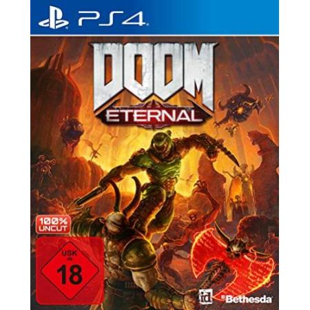 DOOM Eternal - Hülle und Cover stark beschädigt [PS4, gebraucht, DE]