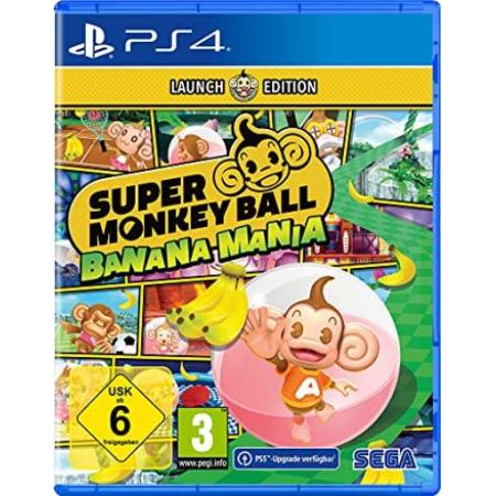 Super Monkey Ball Banana Mania Launch Edition [PS4, neu, DE]