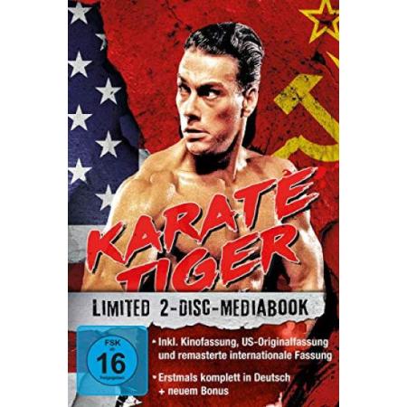 Karate Tiger - 2-Disc-Mediabook - Ohne Deckblatt [BluRay, gebraucht, DE]