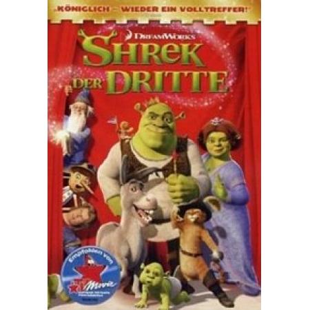 Shrek 3 - Der Dritte [DVD, gebraucht, DE]