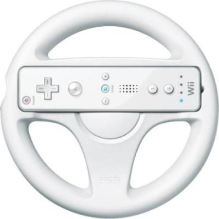 Wii Wheel - Lenkrad (Hardware) [Wii, gebraucht, DE]
