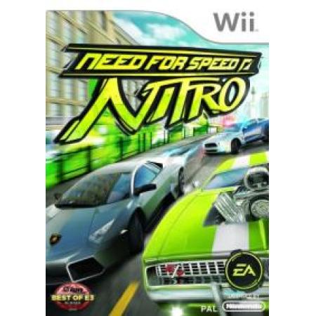 Need for Speed - Nitro [Wii, gebraucht, DE]