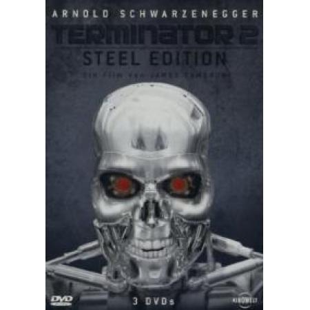 Terminator 2 (Steel Edition, 3 DVDs) [DVD, gebraucht, DE]