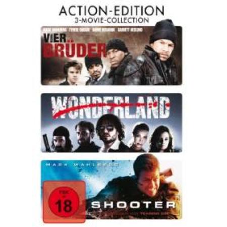 Vier Brüder / Wonderland / Shooter (3 DVDs) [DVD, gebraucht, DE]