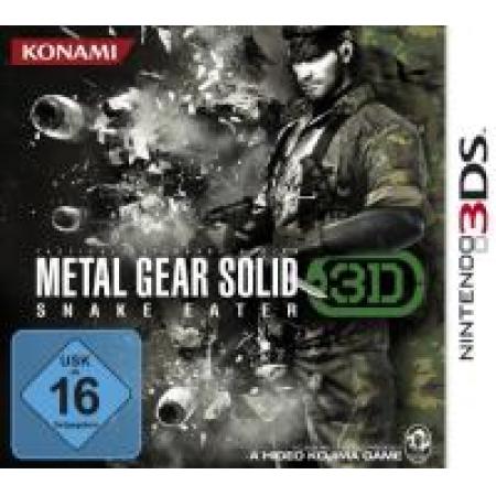 Metal Gear Solid - Snake Eater 3D [N3DS, gebraucht, DE]