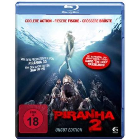 Piranha 2 (Uncut)  [BluRay, gebraucht, DE]