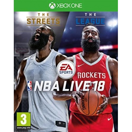 Preview: NBA Live 18 [XBox one, neu, PEGI-UK]