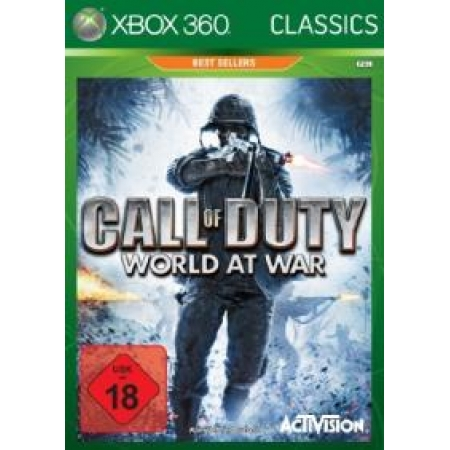 Preview: Call of Duty 5: World at War  (Classic) [XB360, gebraucht, DE]