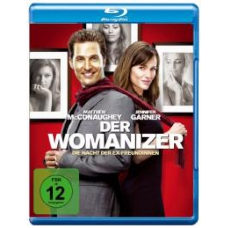 Preview: Der Womanizer [BluRay, gebraucht, DE]