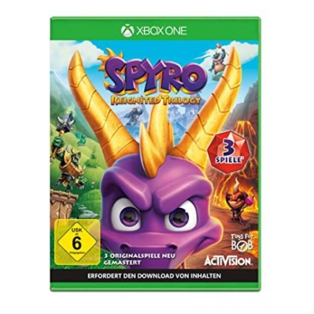 Spyro Reignited Trilogy [XBox one, neu, DE]