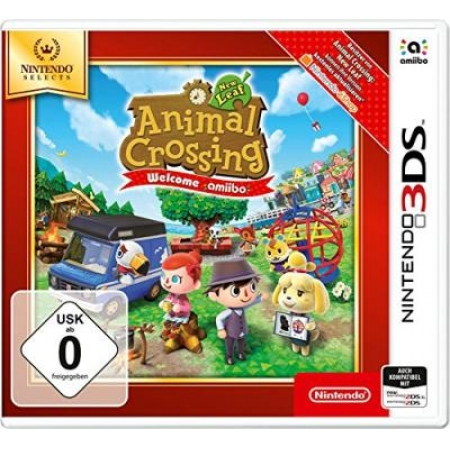 Animal Crossing: New Leaf - Welcome amiibo - Nintendo Selects [N3DS, neu, DE]