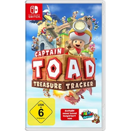 Captain Toad Treasure Tracker [NSW, neu, DE]