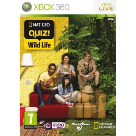 (UK-Import)Nat Geo Quiz Wild Life Game XBOX 360
