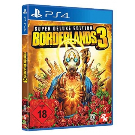 Borderlands 3 - Super Deluxe Edition [PS4, neu, DE]