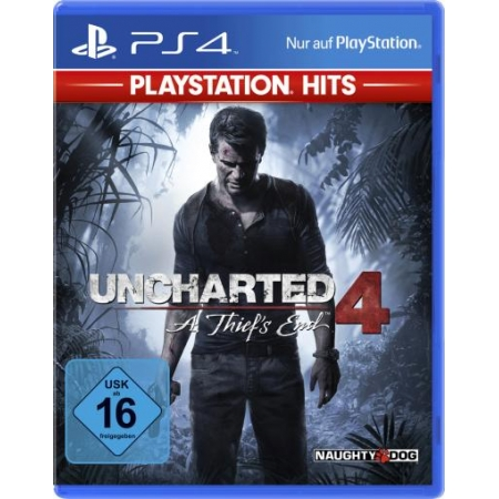 Uncharted 4 PS-4 PSHits A Thief s End [PS4, neu, DE]