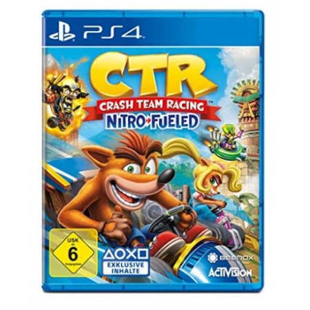 Crash Team Racing Nitro-Fueled - Nitros Oxide Edition [PS4, neu, PEGI-UK]