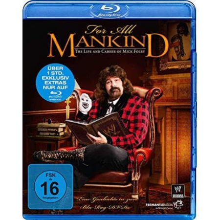 For All Mankind - The Life & Career of Mick Foley (Blu-ray) [BluRay, gebraucht, DE]