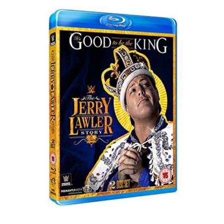 WWE: It s Good To Be The King - The Jerry Lawler Story (UK Import) [BluRay, gebraucht, PEGI-UK]